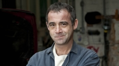 Michael Le Vell as car mechanic Kevin Webster