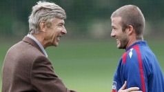 Arsene Wenger pays tribute to Beckham