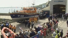 The Queen visited the local RNLI station