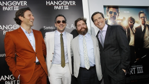 The Hangover Part III premiere in Los Angeles