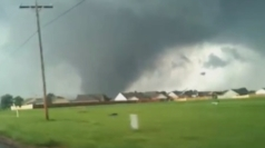 Oklahoma tornado: Amateur footage captures monster twister