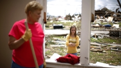 Oklahoma tornado survivors