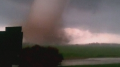 Oklahoma tornado: Dramatic footage shows power of twister