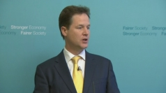 "Nick Clegg: Tory backbenchers ""consumed by game playing"""