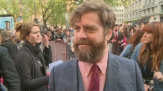 The Hangover Part III premiere: Zach Galifianakis interview