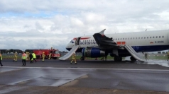 BA plane makes emergency landing