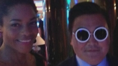 Fake Psy parties at the Cannes Film Festival