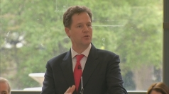 Nick Clegg praises 'diversity' of London