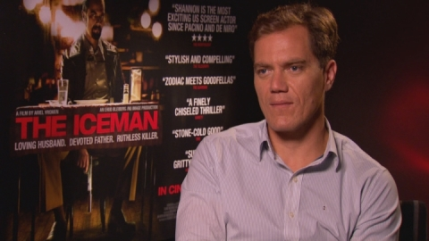 The Iceman: Michael Shannon on playing a cold-blooded killer