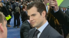 Henry Cavill at the Man of Steel European premiere
