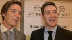 Harry Potter twins James and Oliver Phelps on reunion