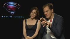 Man of Steel: Michael Shannon and Antje Traue talk villains