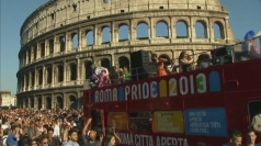 Rome's Gay Pride 2013 gets underway
