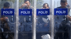 Heavy police presence in Taksim Square after clashes