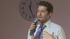 Glee's Matthew Morrison visits school and talks new album