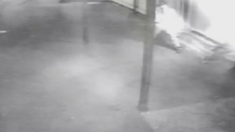 'Arsonist' caught on CCTV setting fire to Hindu temple