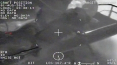 US fighter jet pilot rescued from sea