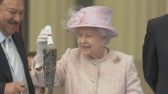 Queen's secret message in Commonwealth Games baton