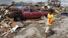 Typhoon Haiyan emergency response under way