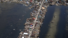 Aerial pictures reveal devastation in the Philippines