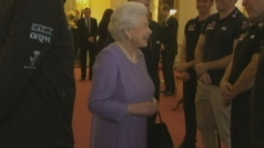 Queen meets Prince Harry's Walking with the Wounded team