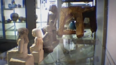Mystery of spinning Egyptian statue is solved