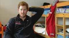 Prince Harry jokes he 'tried to get out of South Pole trek'