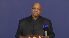 President Zuma announces the death of Nelson Mandela