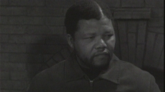 Nelson Mandela's first ever TV interview