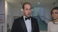 Prince William praises 'inspiring' Mandela
