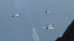 Missile fire lights up China skies during fighter jet drills