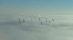 Fog descends on London