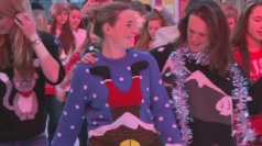 Christmas jumper Guinness World Record attempt