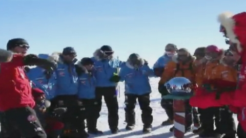 Prince Harry and team of injured troops reach South Pole