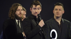 Brits Winners Room: Arctic Monkeys' AWKWARD interview