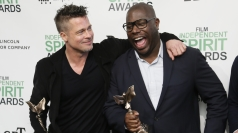 Brad Pitt talks '12 Years a Slave' winning top prize