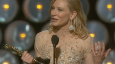 Cate Blanchett wins Oscar: Actor gives funny speech