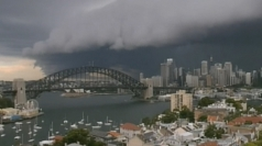 Timelapse of epic Sydney storm