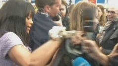 Rihanna clashes with reporter at Chanel catwalk show