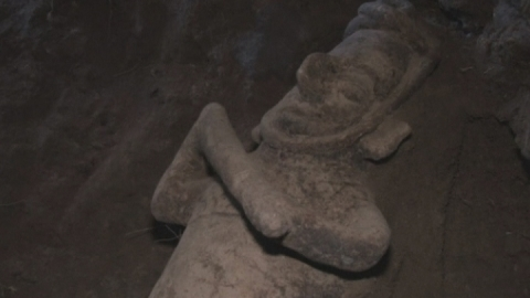 Ancient children and animal remains found in Mexican tomb