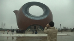 Huge teapot-shaped building in China