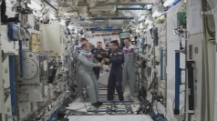 Japanese astronaut takes charge of ISS