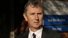 Nigel Evans arrives for trial