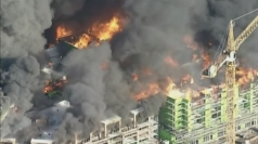 Giant fire engulfs nine-storey building in San Francisco