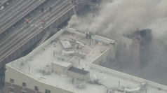 New York building collapses after explosion