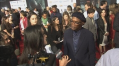 Stars turn out for Captain America premiere