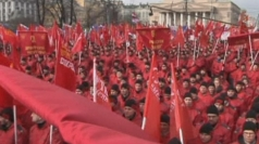 Thousands take part in rallies ahead of Crimea vote