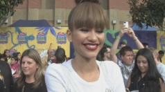 Zendaya interview, Kids' Choice orange carpet