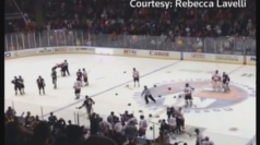Charity hockey match descends into all-out brawl