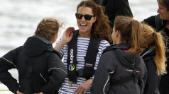 Kate thrashes Wills in boat race